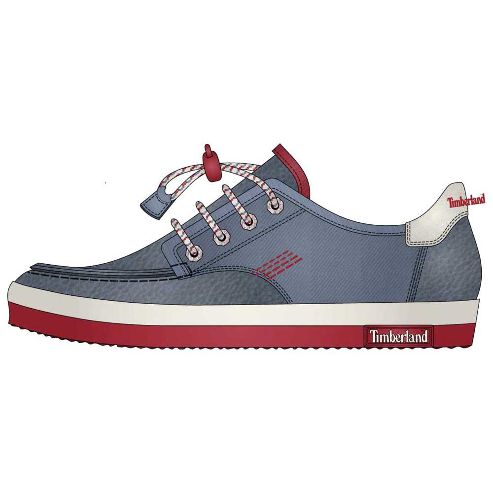 Timberland Glastenbury Leather Canvas Boat Oxford