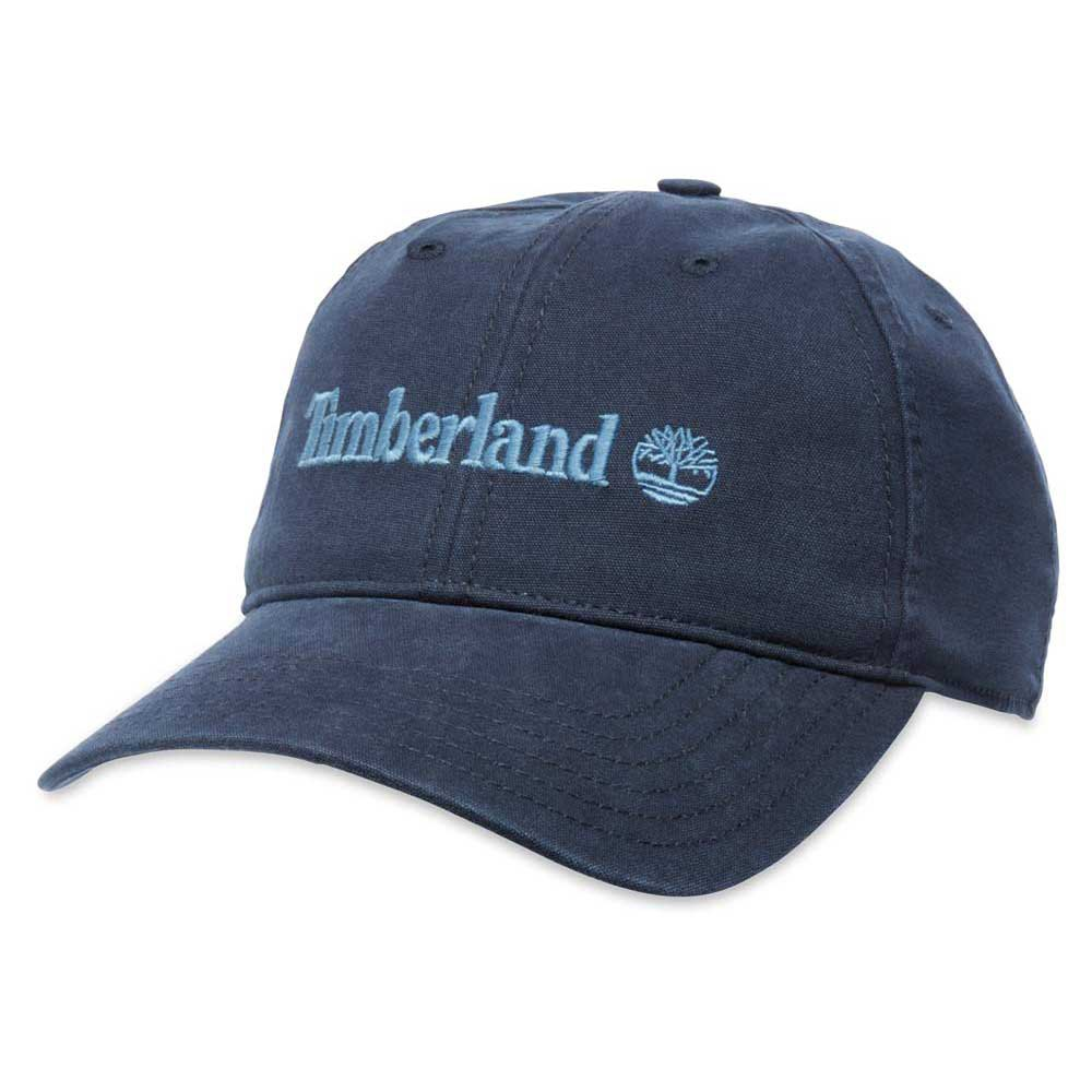 Timberland A16Mn Embroidred Logo Baseball Cap Blue 12bf1d08f794