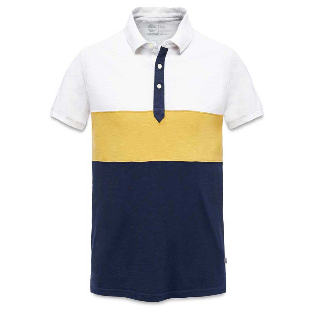Timberland Ss Kennebec River Colour Block Polo