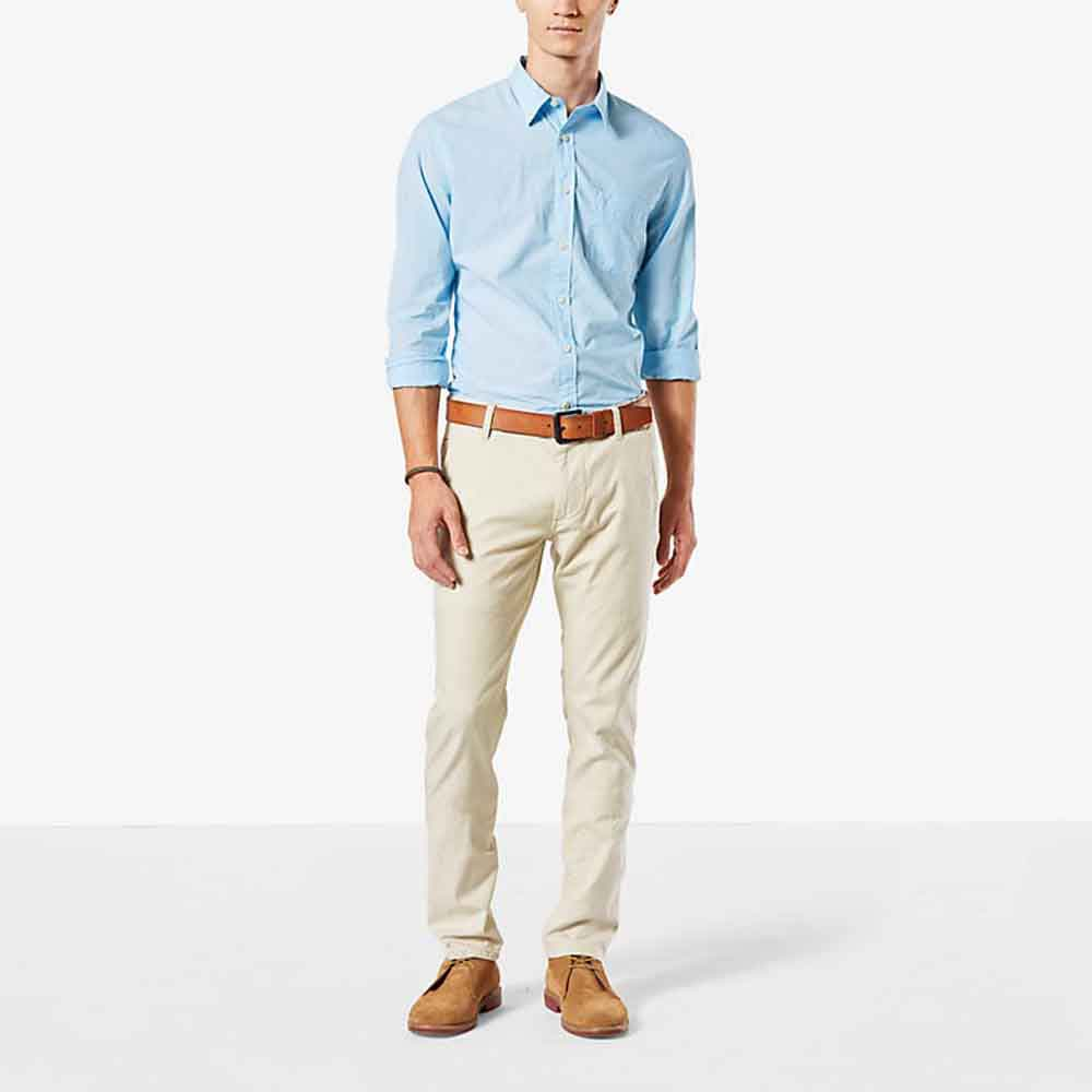 Dockers Alpha Khaki Skinny Tapered L30