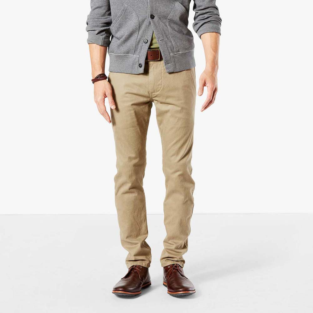 Dockers Alpha Khaki Skinny Tapered L34