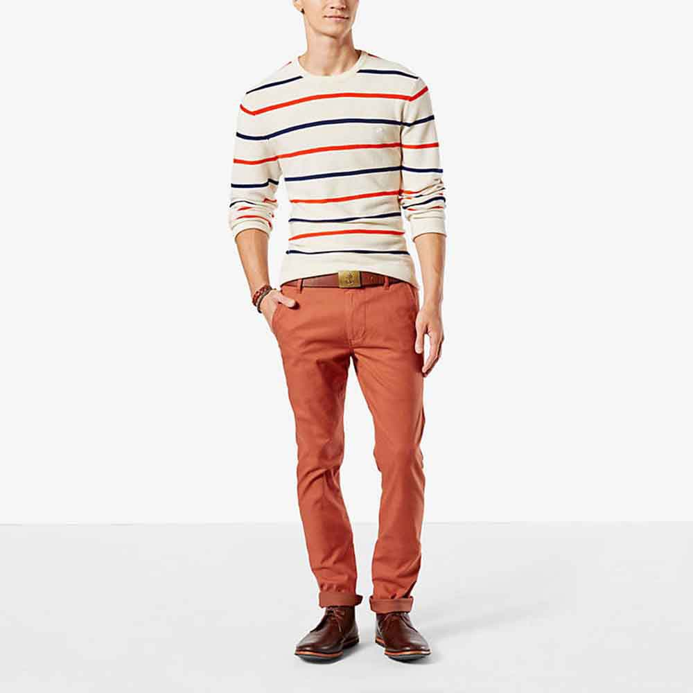 Dockers Alpha Khaki Skinny Tapered L36