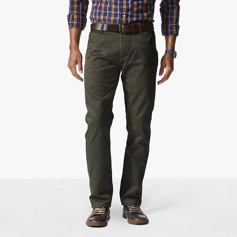 Dockers Alpha Khaki Slim Tapered