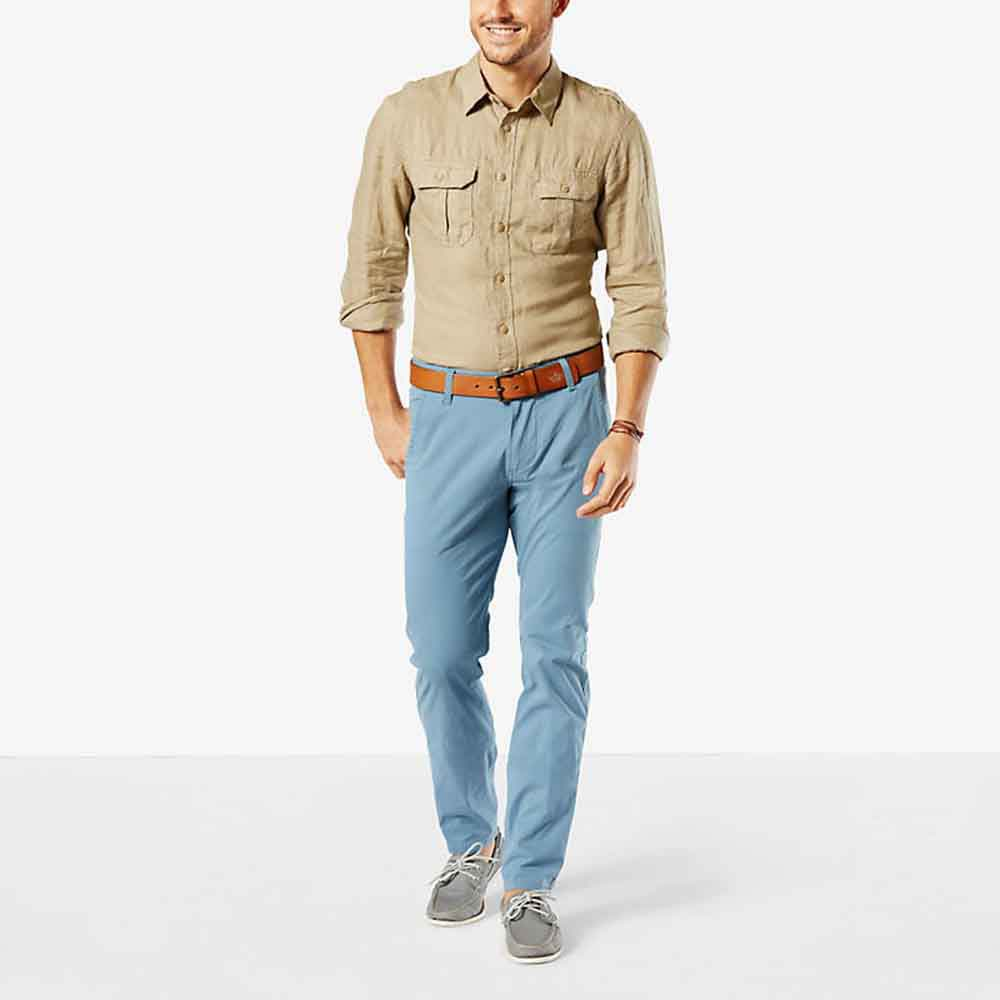 Dockers Alpha Khaki Slim Tapered L32