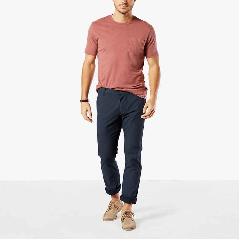 Dockers Alpha Khaki Slim Tapered L36
