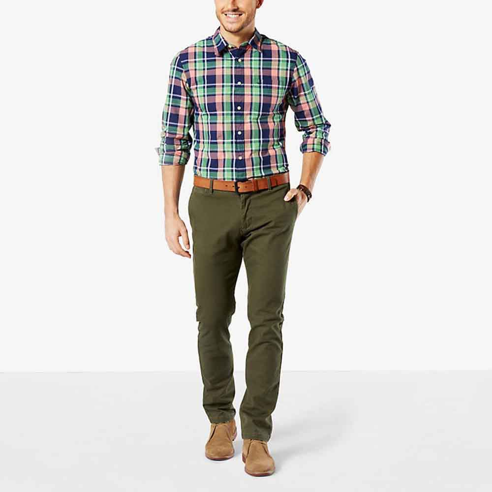 Dockers Pacific Washed Khaki Slim Tapered L28