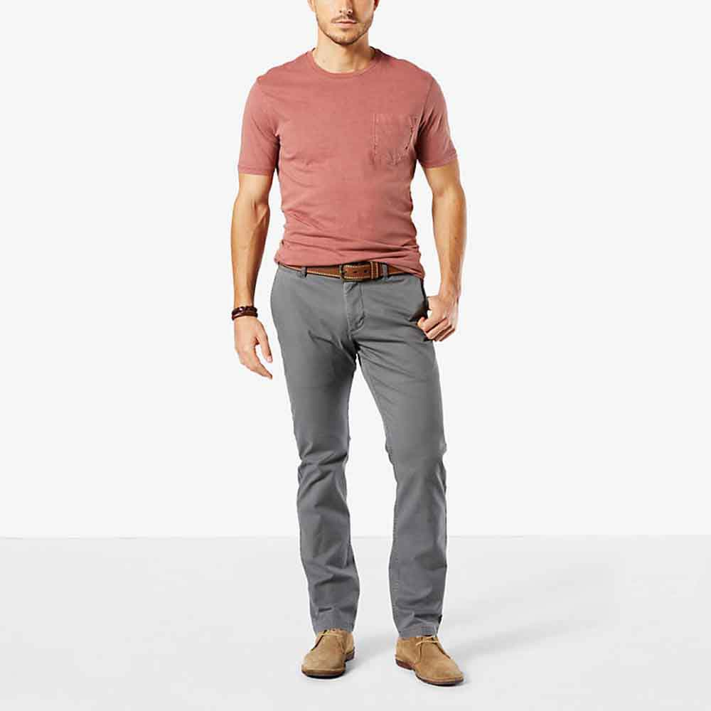 Dockers Pacific Washed Khaki Slim Tapered L29
