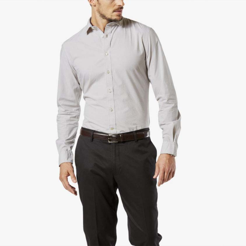 Dockers Refined Poplin Shirt Slim Fit Ls
