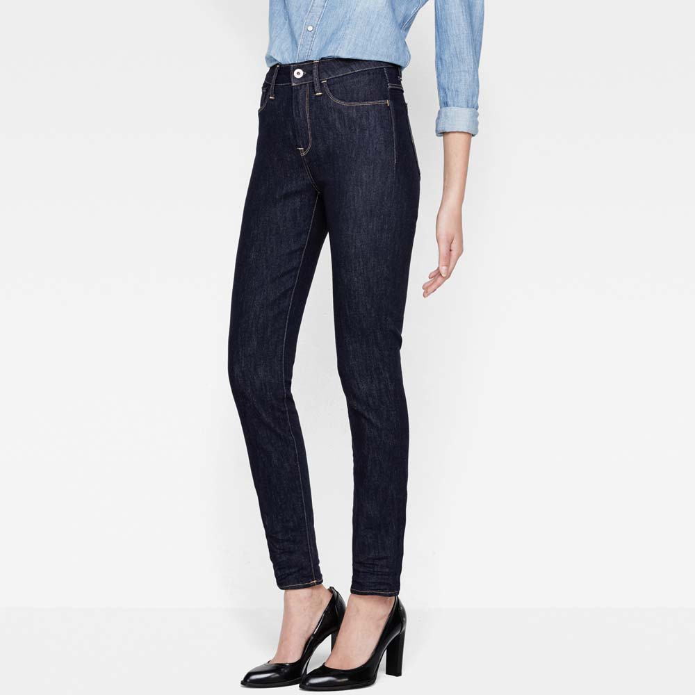 Gstar 3301 Deconstructed Ultra High Waist Super Skinny L36