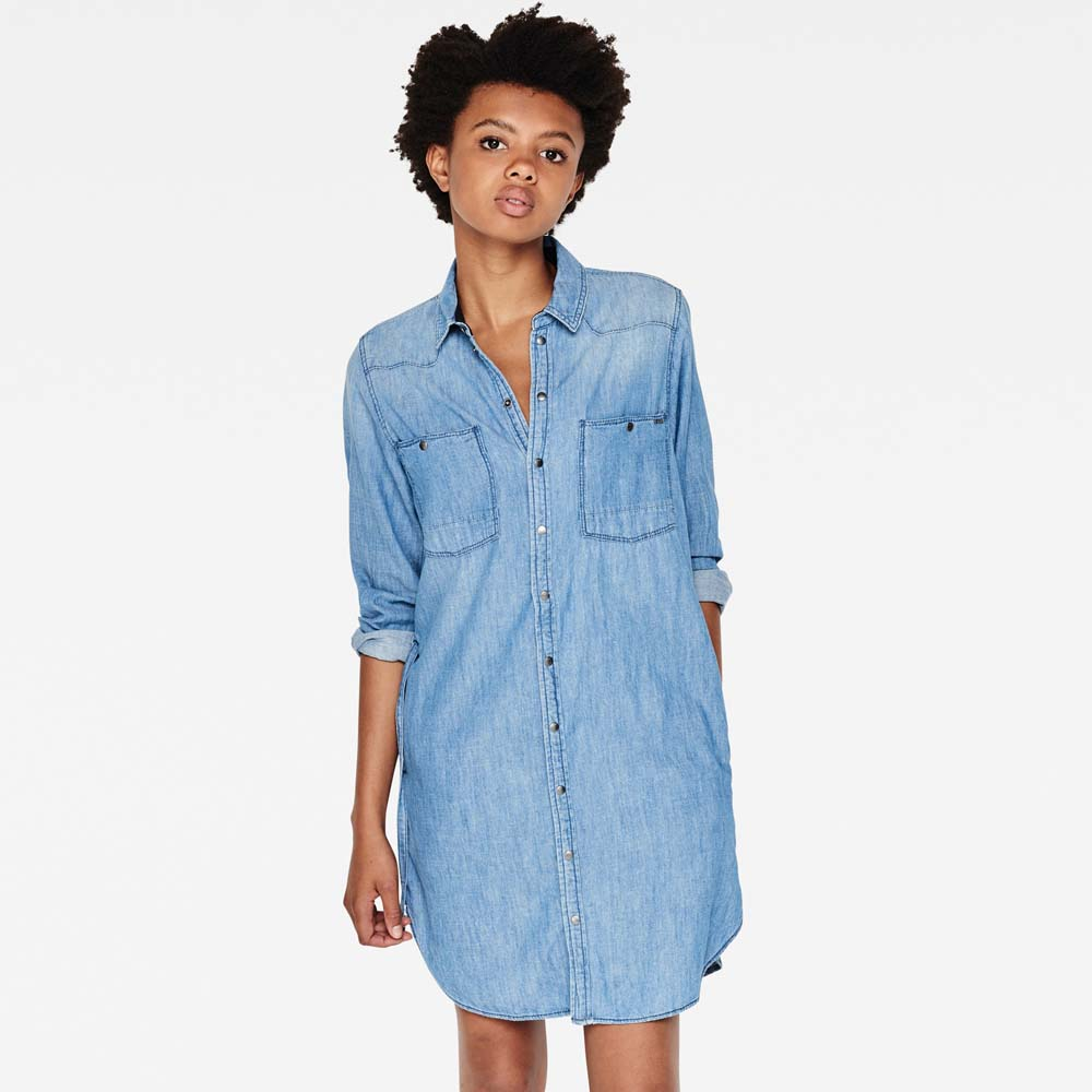 G-star Remi Boyfriend Shirt Dress
