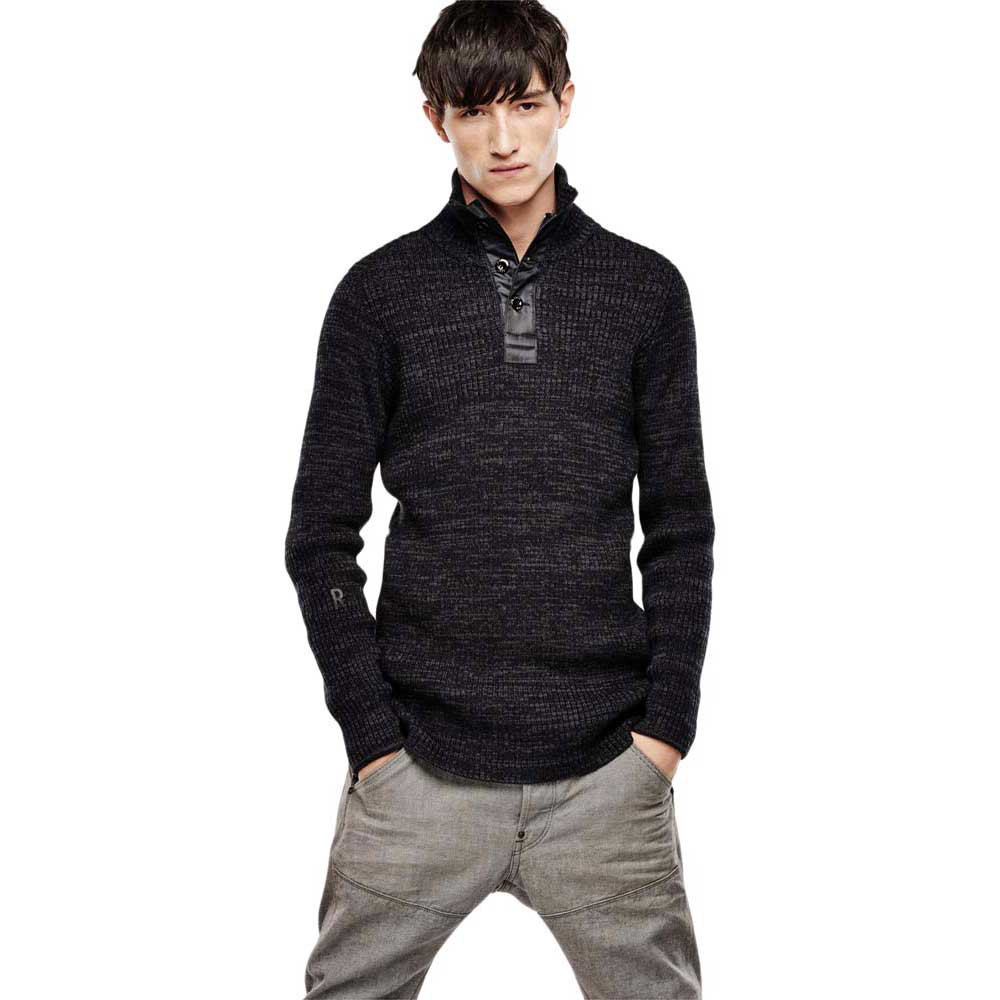 Gstar Effo Turtle 1/2 Zip Knit