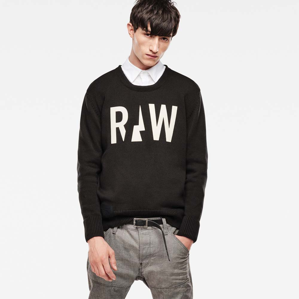 Gstar Filler Round Neck Knit
