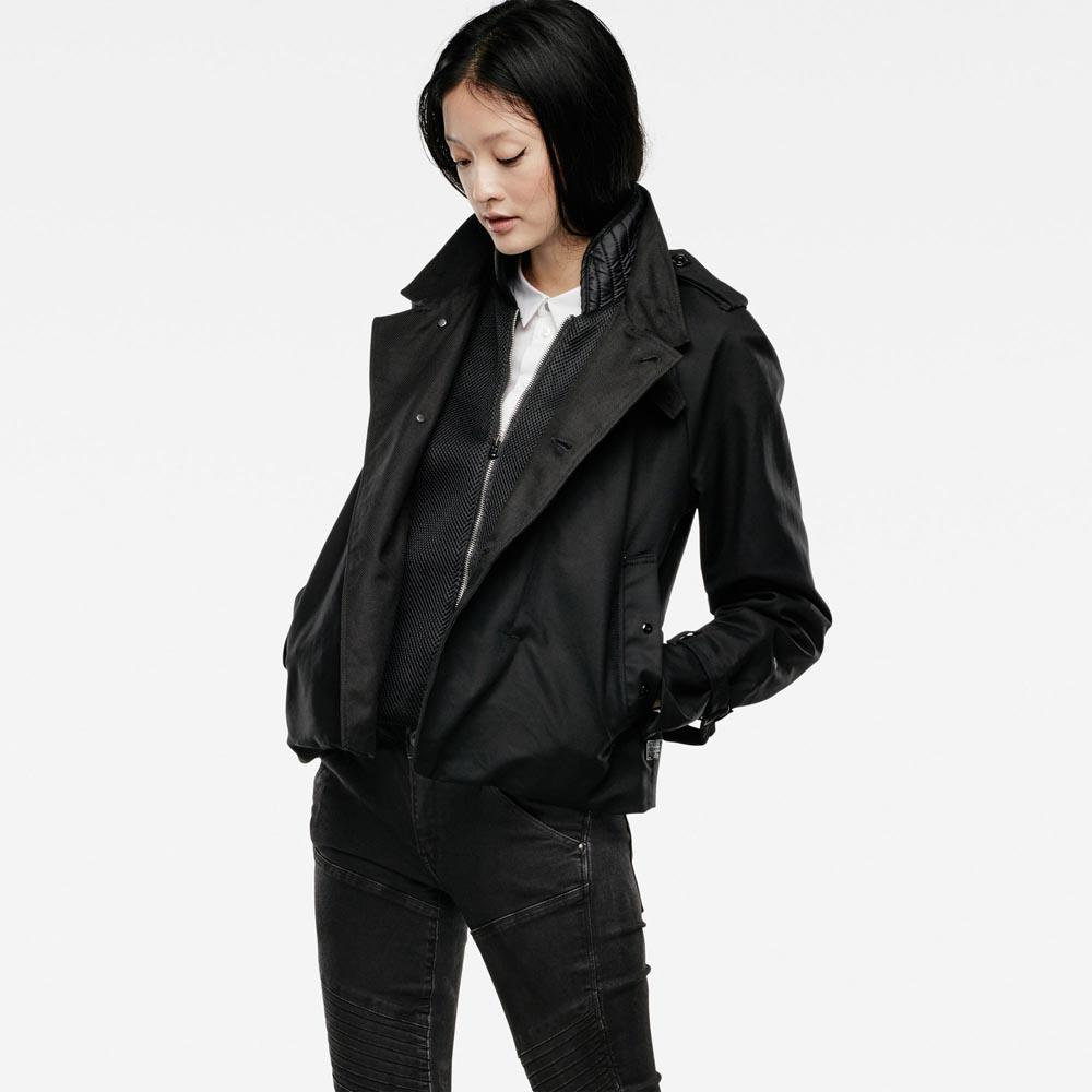 G-star Minor Cropped Trench