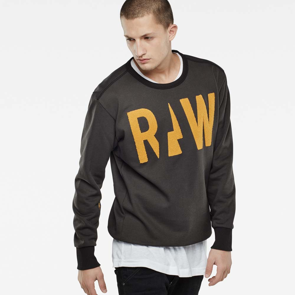 Gstar Grount Round Neck Sweat