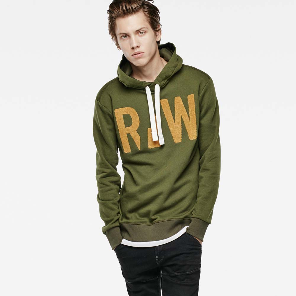Gstar Grount Hooded Sweat