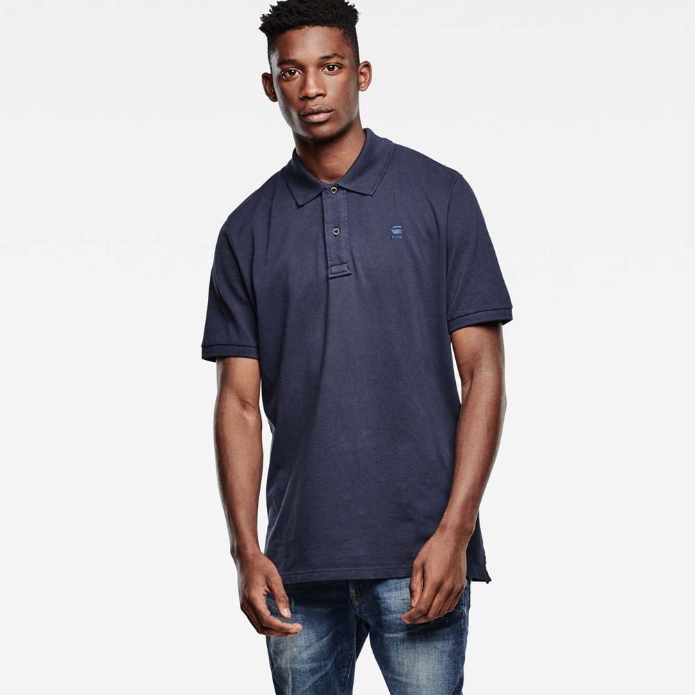 G-star Mondollo Overdye Polo T Shirt S/S