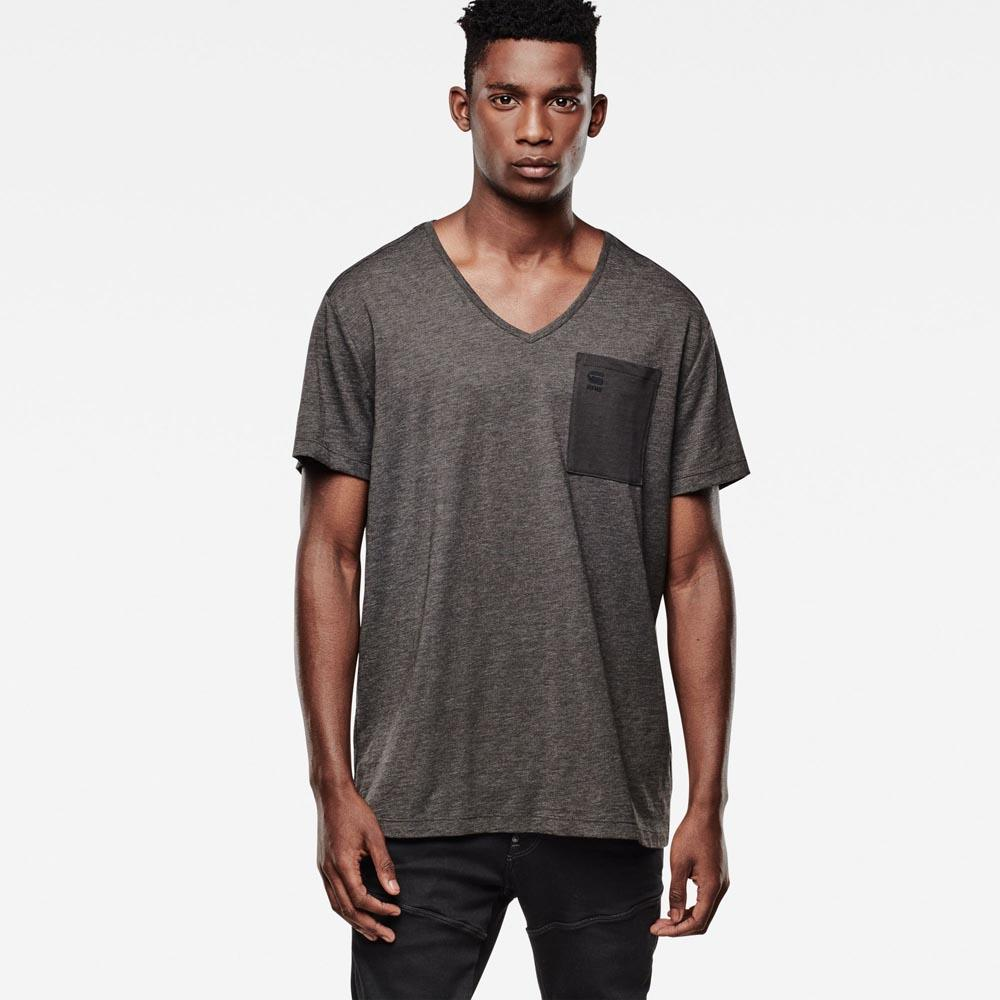 Gstar Mazuren Regular V Neck T Shirt S/S