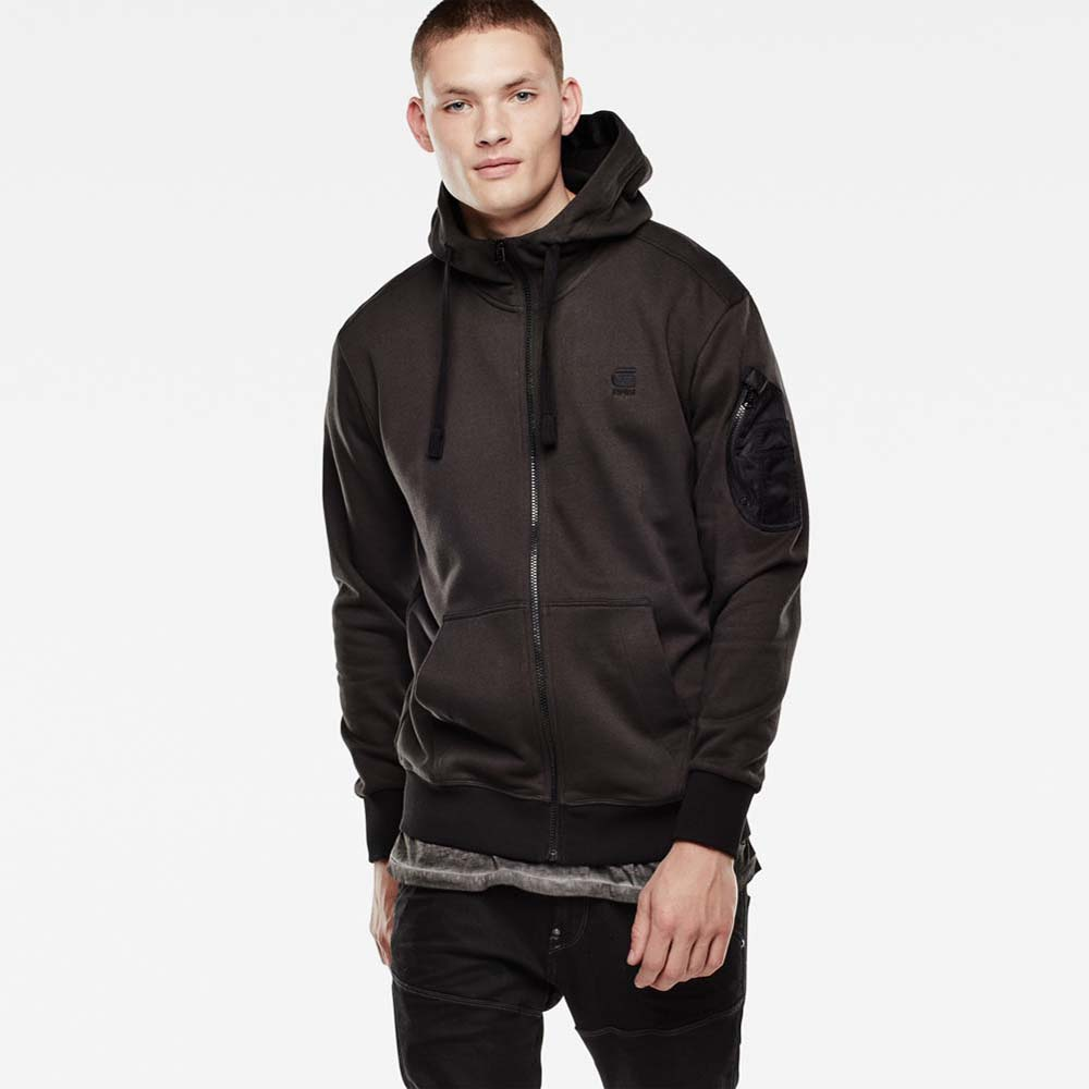 Gstar Kendo Hooded Vest Sweat