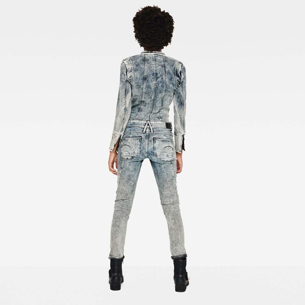 f8e55242bf6 Gstar Lynn Jet Suit Blue buy and offers on Dressinn