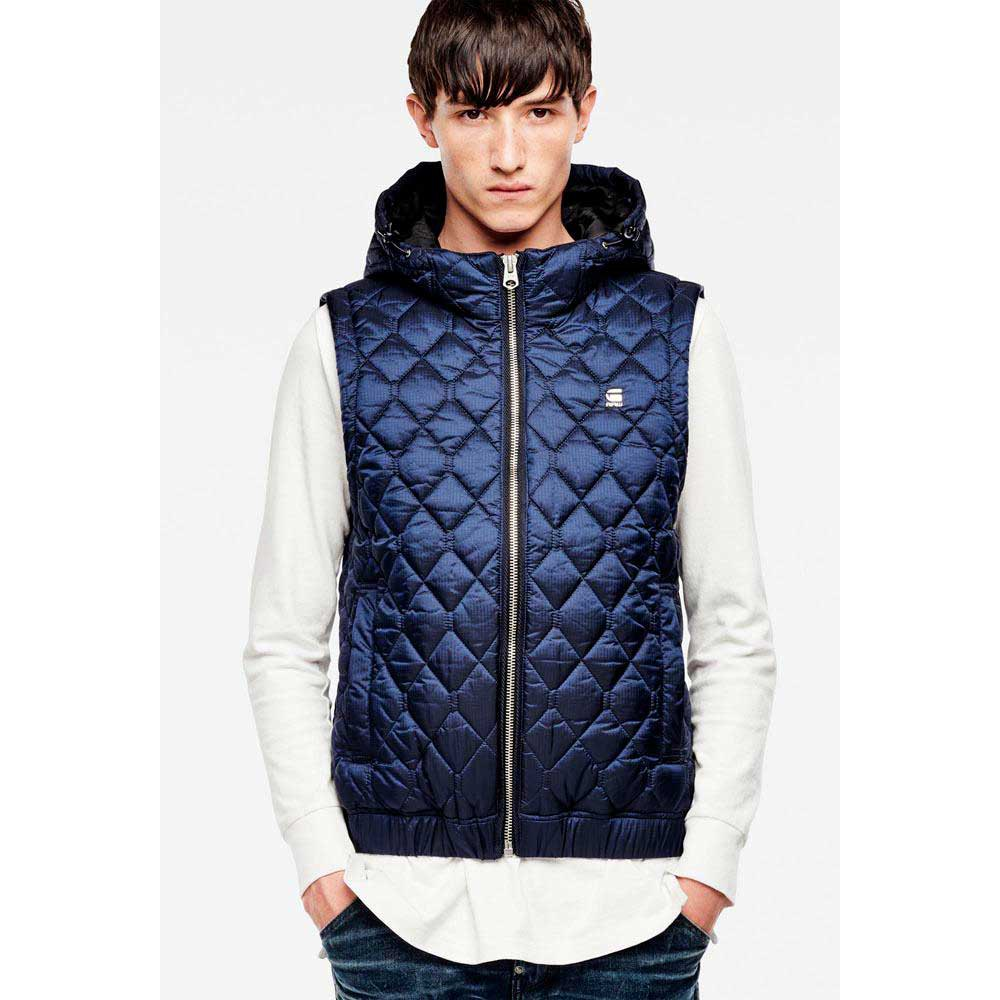 Gstar Meefic Quilted Hooded Vest