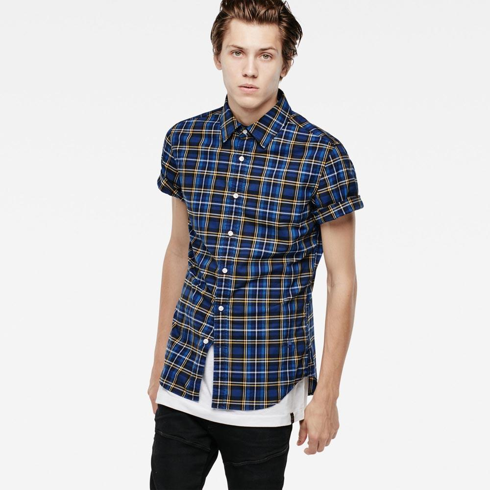 Gstar Core Check Shirt S/S