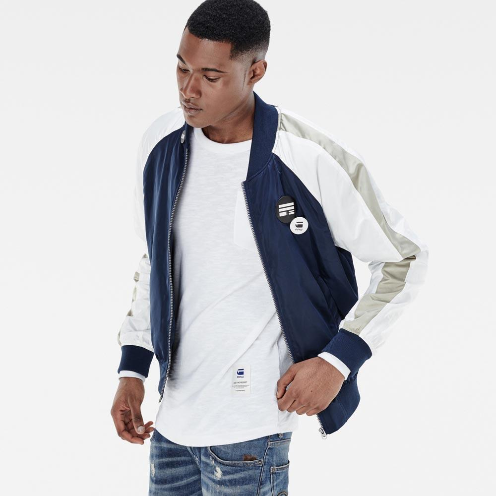 e8a2ce4b1 Gstar Attacc Pin Badge Bomber buy and offers on Dressinn