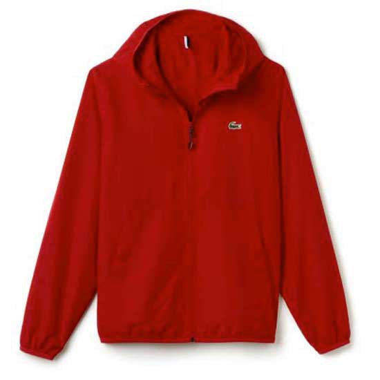 Lacoste Hooded Zippered Jacket