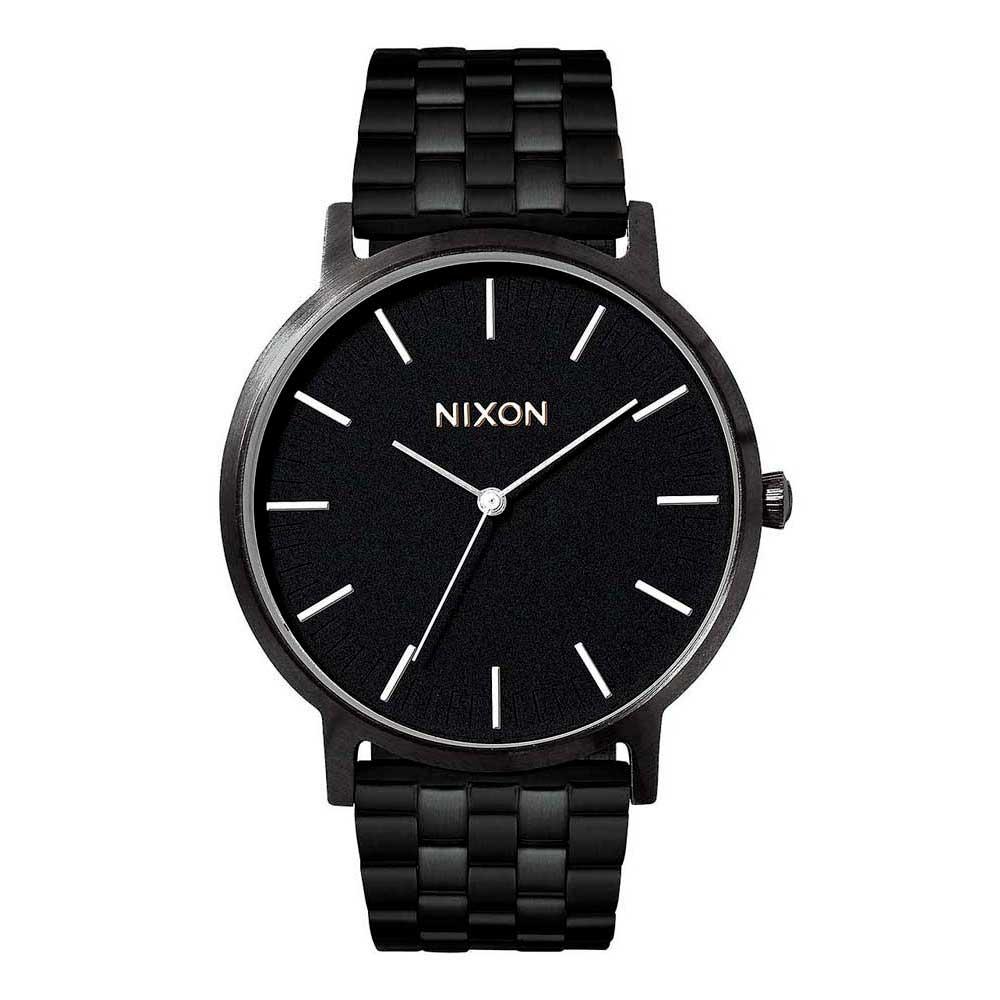 Relógios Nixon Porter One Size All Black / White
