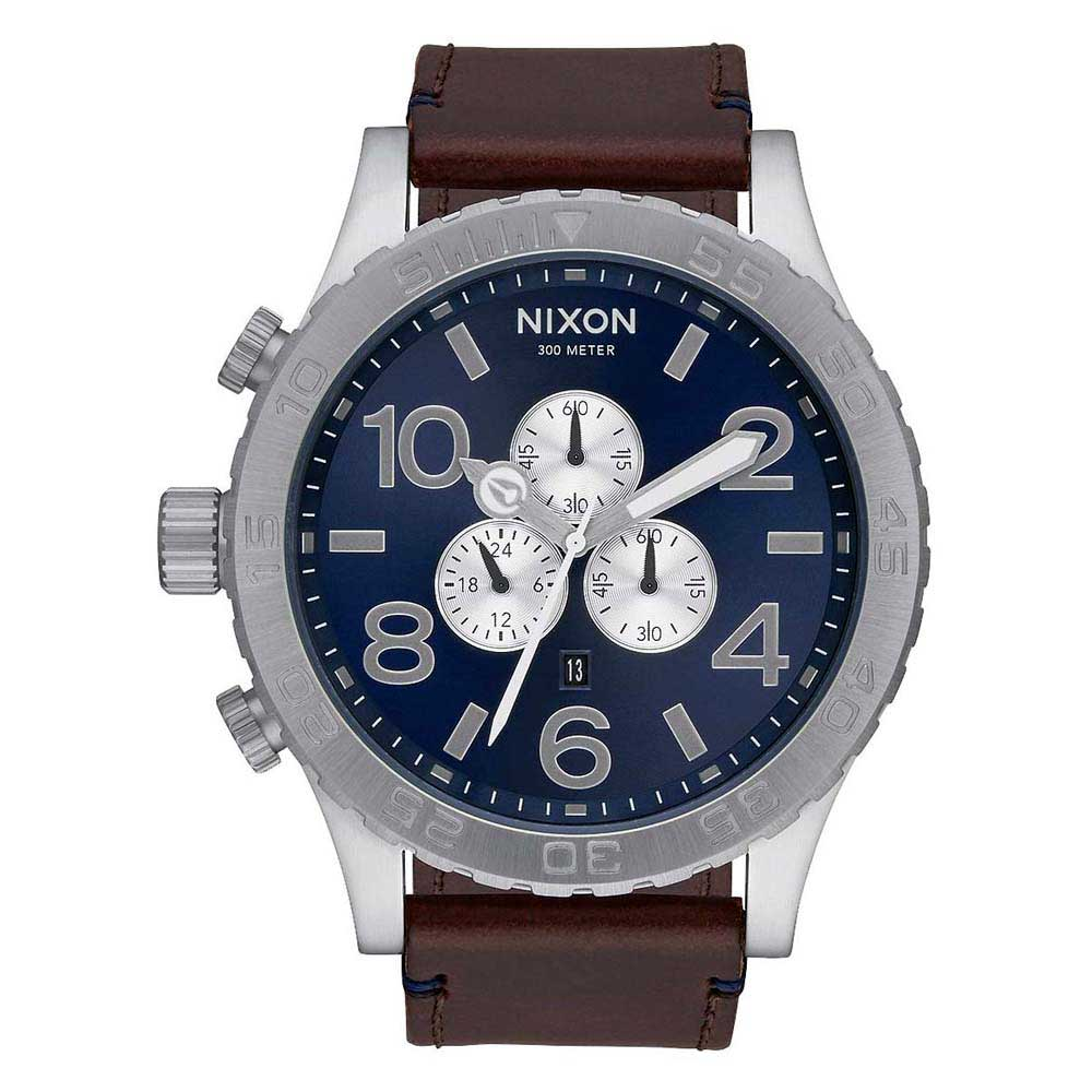 Nixon 51 30 Chrono Leather