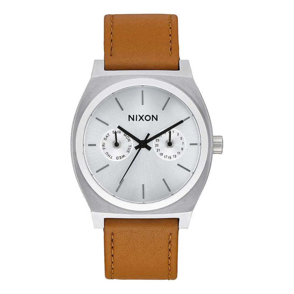 Nixon Time Teller Deluxe Leather
