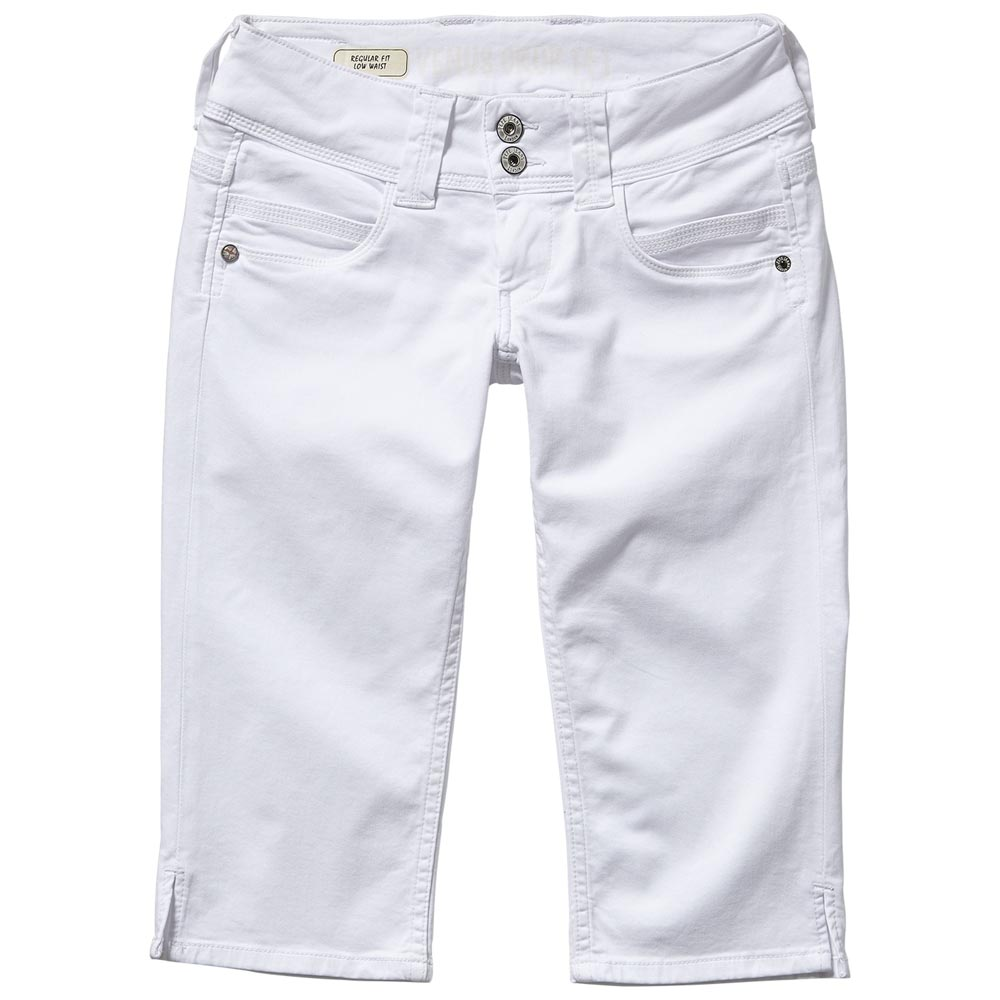 a35ab6cd092 Pepe jeans Venus Crop White buy and offers on Dressinn