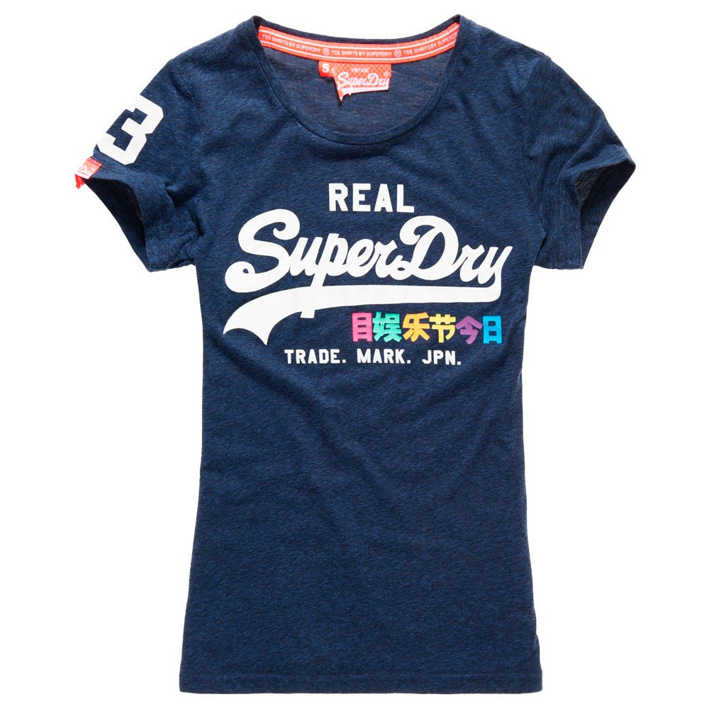 Superdry Vintage Logo Rainbow Entry