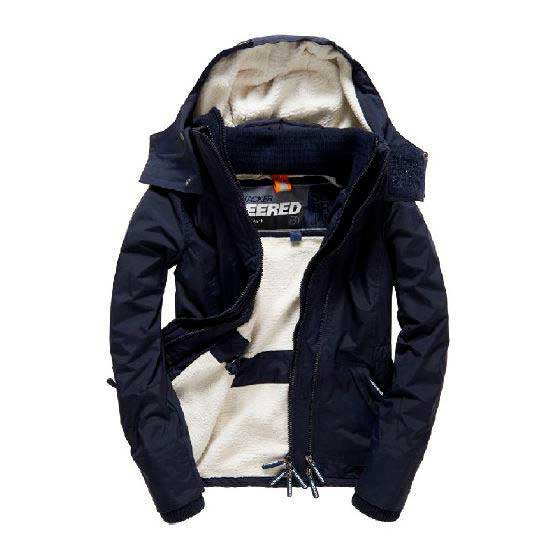 Superdry Hood Fur Sherpa Wind Attacker