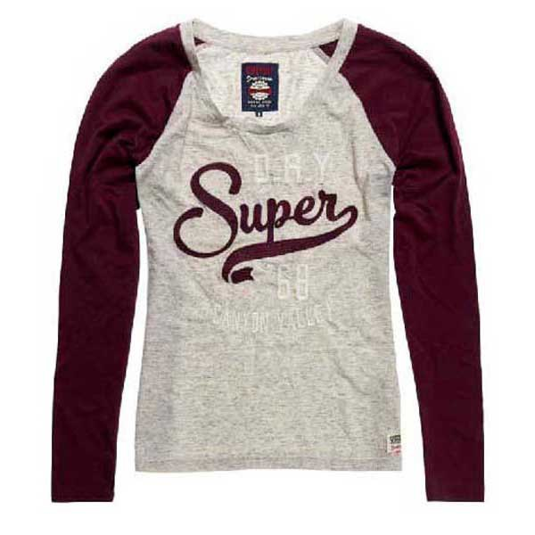 Superdry Applique Raglan Ls