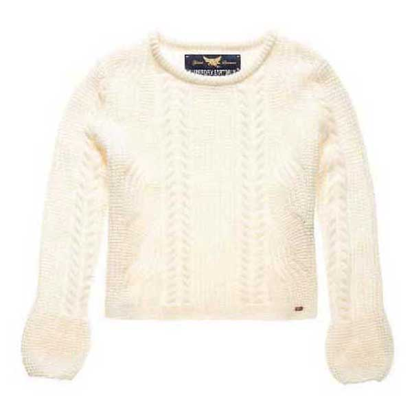 Superdry Bell Sleeve Mohair Cable