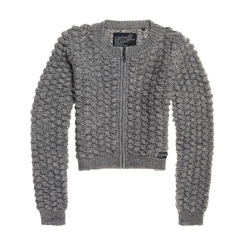 Superdry Bobble Stitch Zipup Bomber