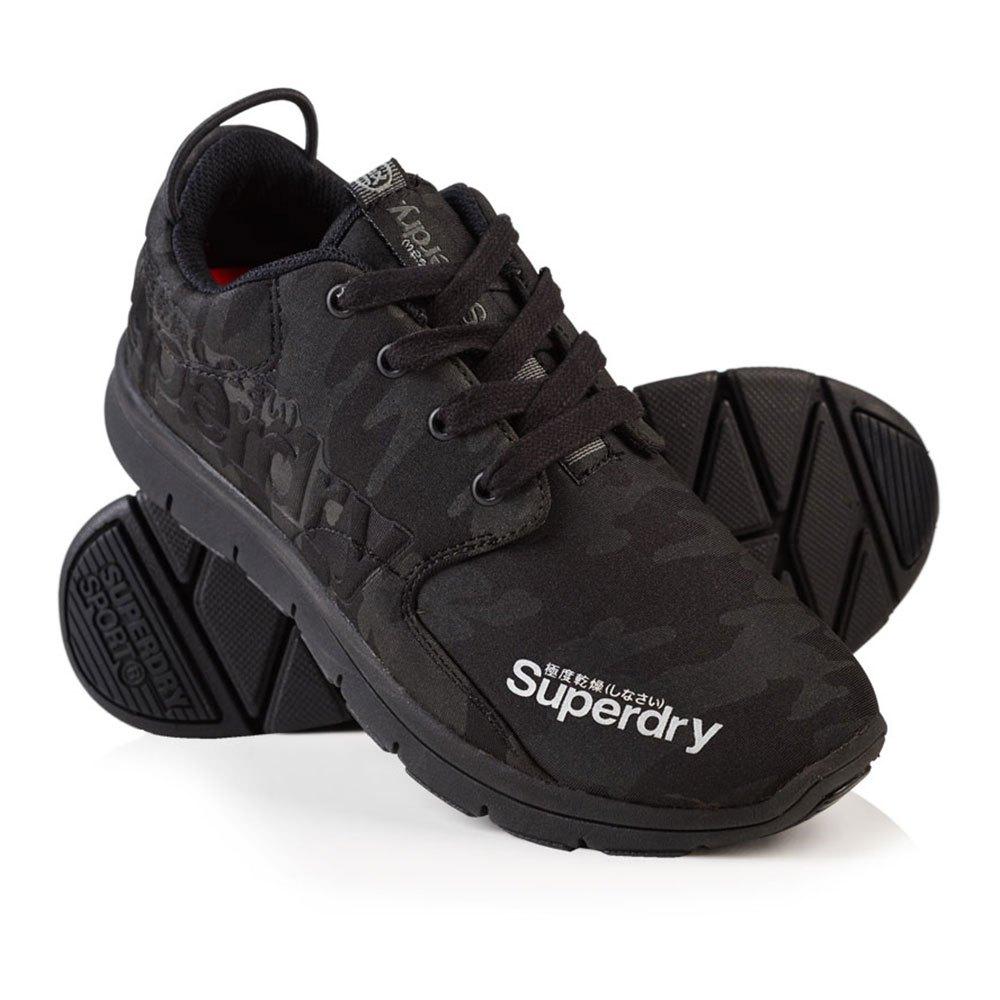 Sneakers Superdry Scuba Runner EU 36 Black Camo