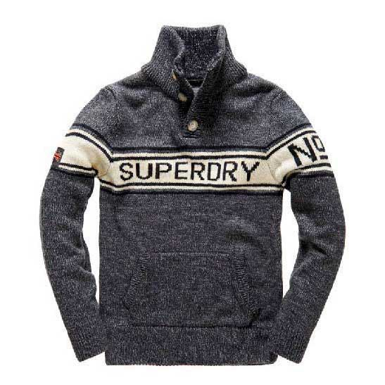 Superdry Striped Logo Henley