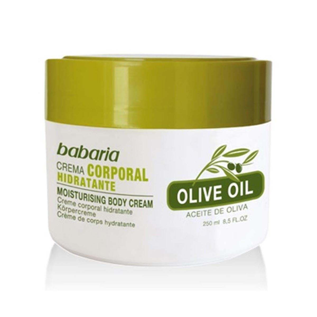Babaria fragrances Olive Oil Body Cream 250ml