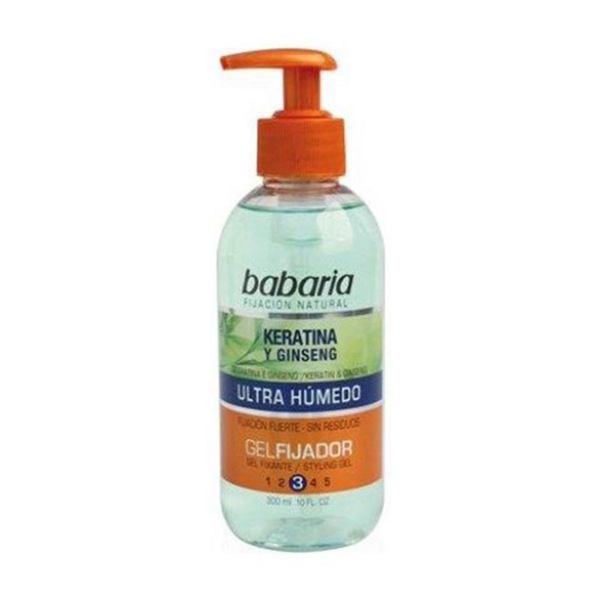 Babaria Wet Ultra Keratin & Ginseng Gel No 3 300 ml