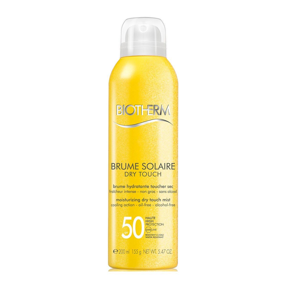 Biotherm Brume Solaire Dry Touch Oil Free Spf50 200ml