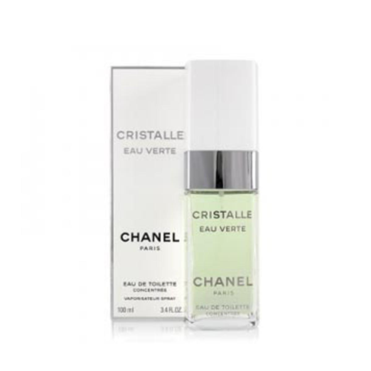 Chanel fragrances Cristalle Eau Verte Concentree 100ml