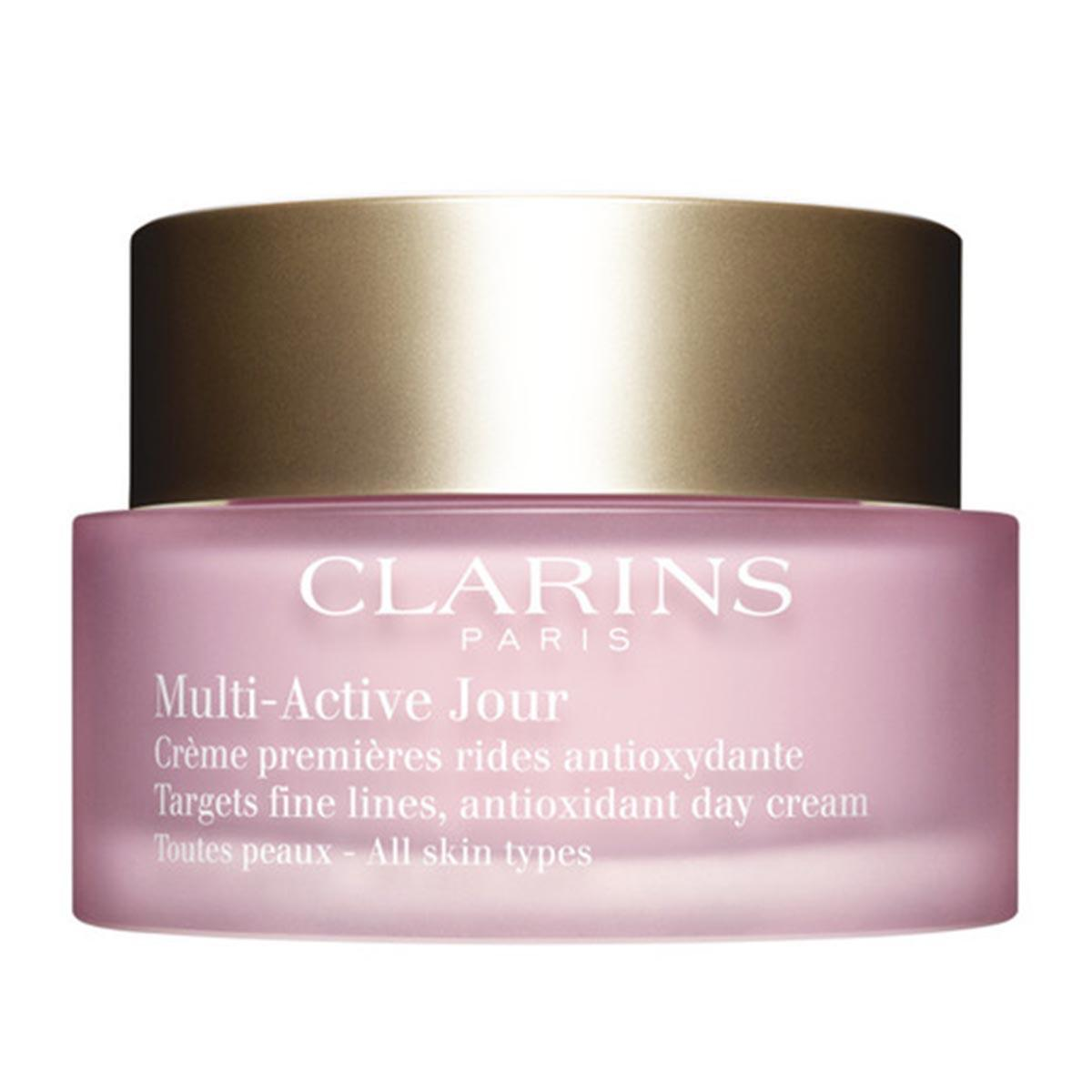 Clarins fragrances Multiactive Day Cream Gel All Skin Types 50ml