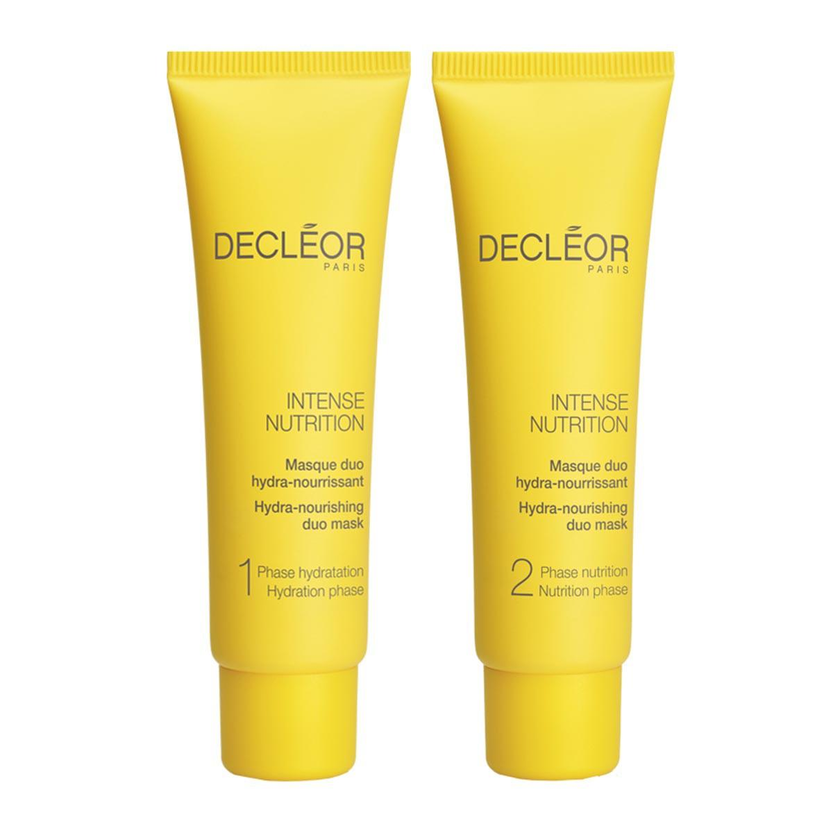 Decleor fragrances Intense Nutrition Masque Duo Hydranourrissant Peaux Normales A Tres Seches 2X25ml