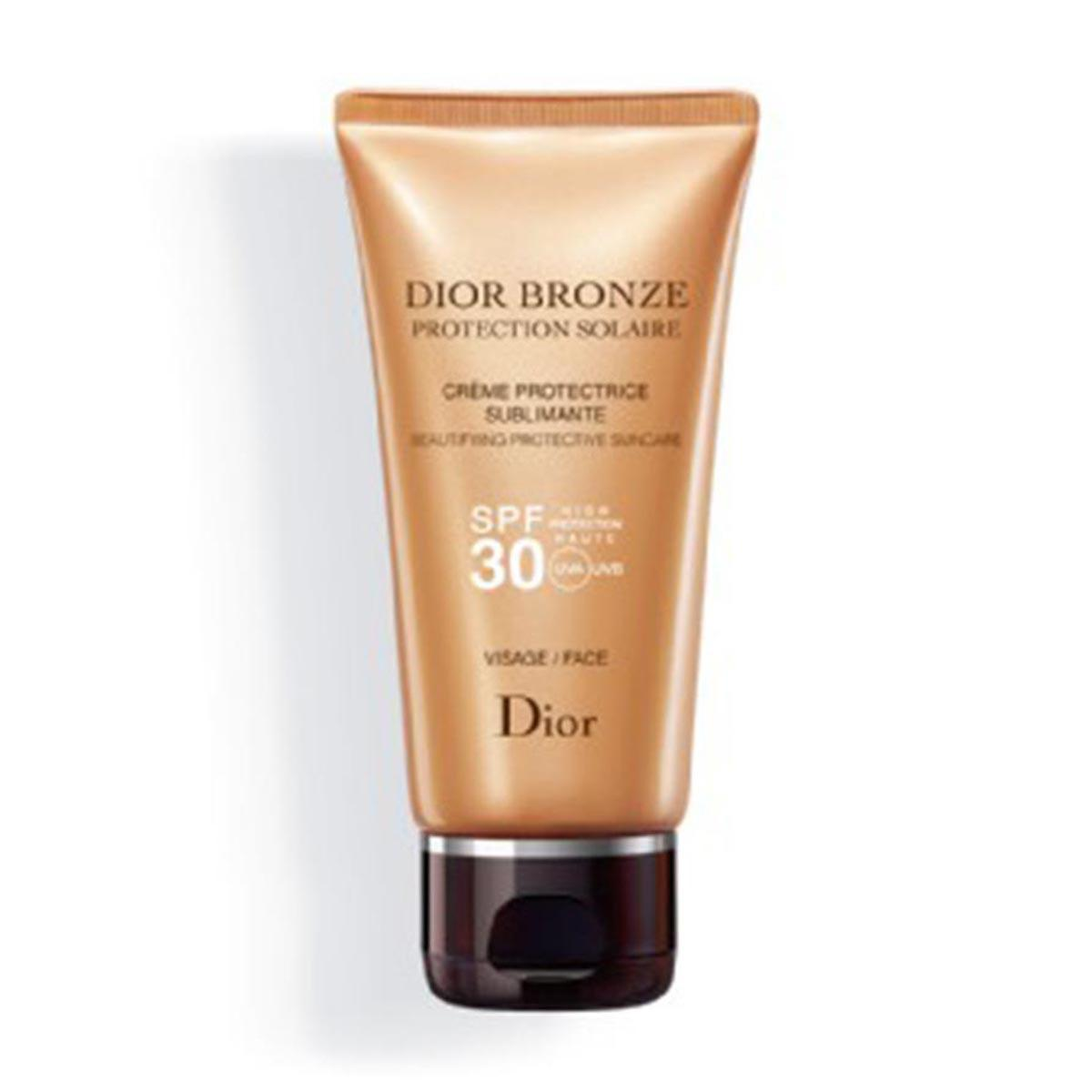 Christian dior fragrances Bronze Protective Creme Sublime Glow Face Spf30 50ml