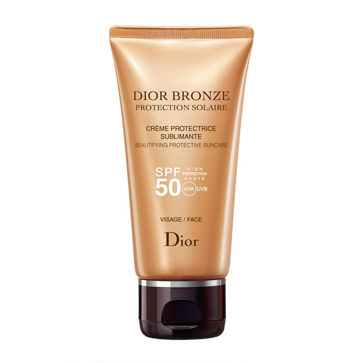 Christian dior fragrances Bronze Protective Creme Sublime Glow Face Spf50 50ml