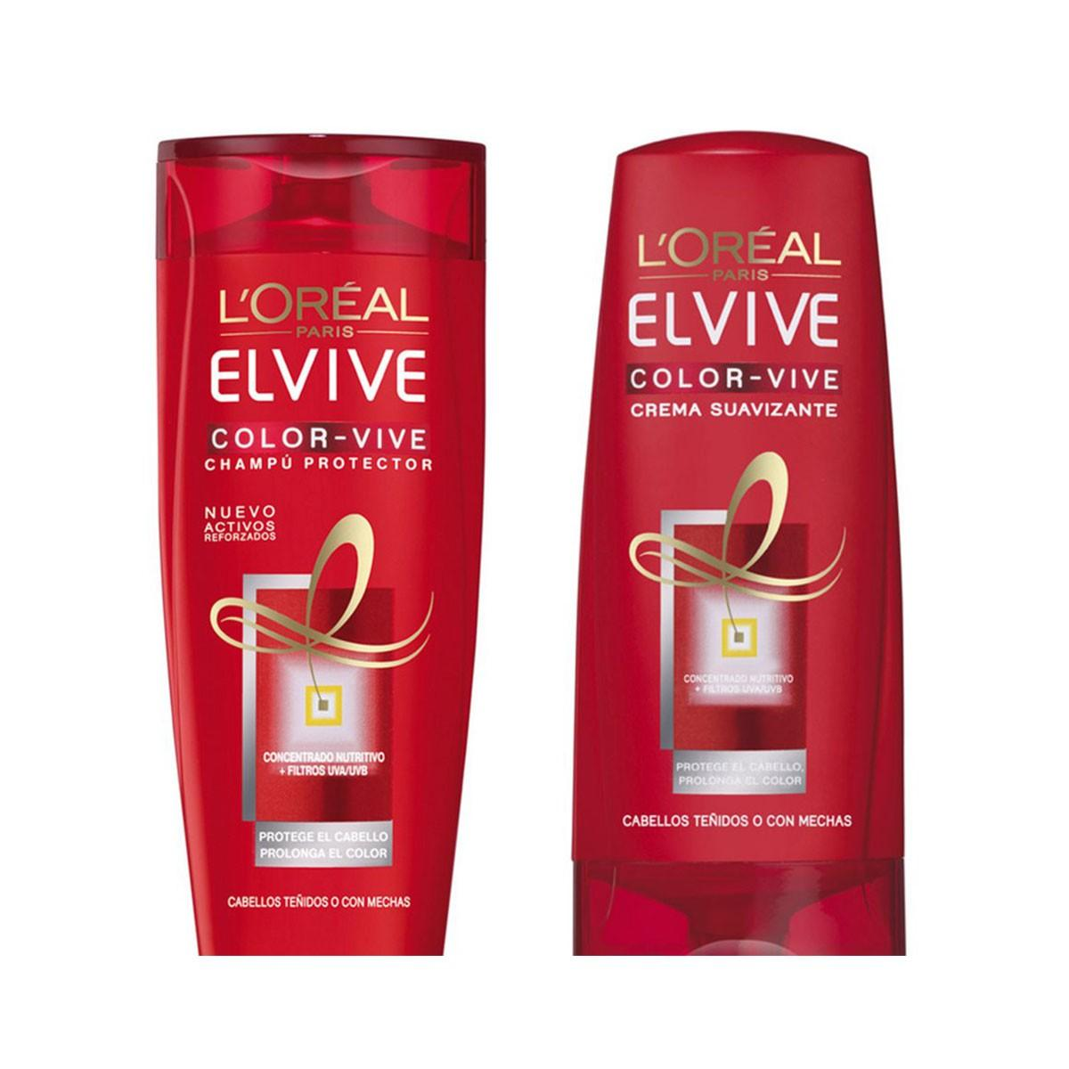 Consumo Elvive Shampoo Color Vive 500 ml Conditioner 250 ml