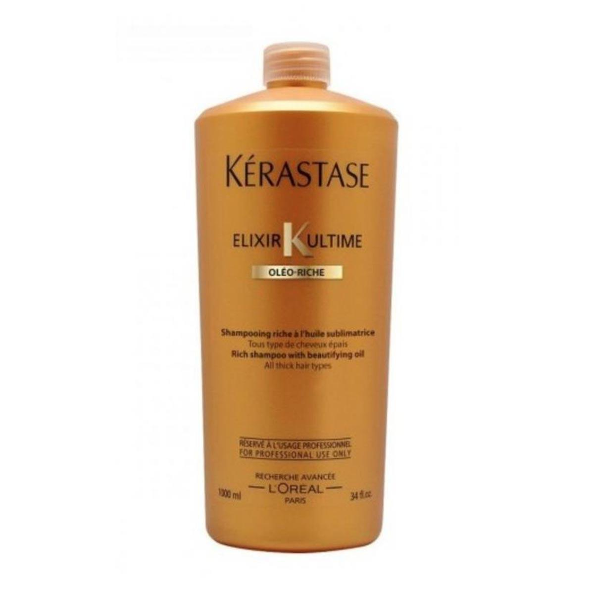 Kerastase fragrances Elixir K Ultime Oleo Riche Shampoo 1000ml