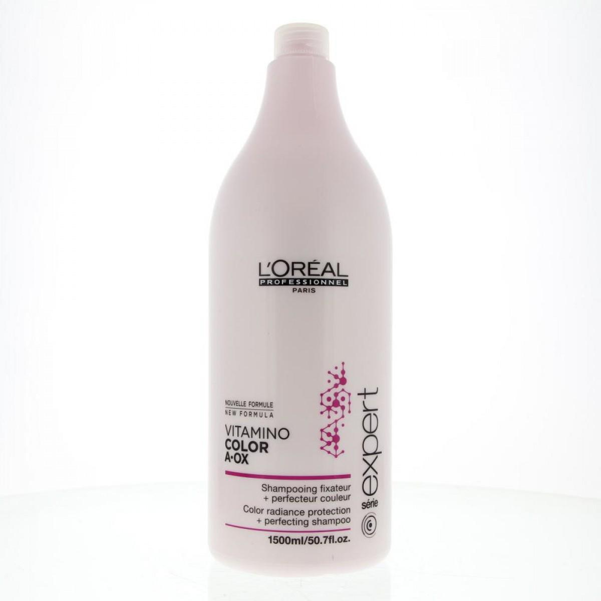 L´oreal L Oreal Expert Vitamino Color Aox Shampooing Fixateur Perfecteur Couleur 1500 ml