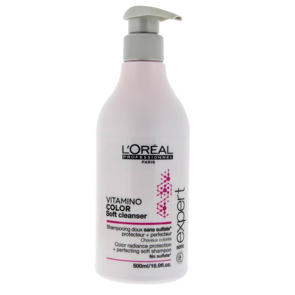L´oreal L Oreal Expert Vitamino Color Soft Cleanser Shampoo Sans Sulfate 500L